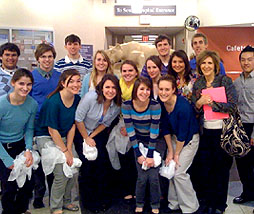 HS AP Biology students visit the Hershey Medical Center Research Labs.